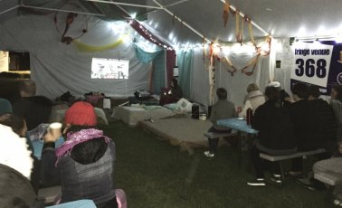 Movie night at Venue 368