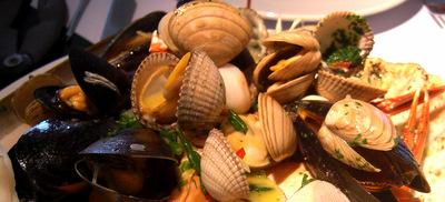 Shellfish at Ondine