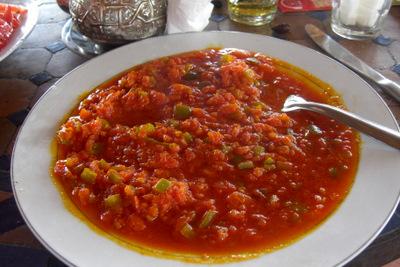 "Pimento and Tomato ""Salad"""