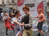 Ballroom dancing at the Fringe
