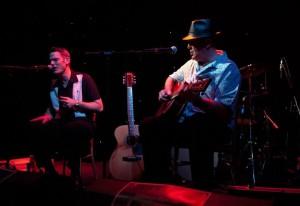 Houndog Fraser & Rock Hunter playing at the Pear Tree