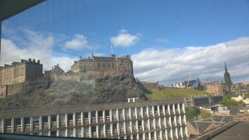 view from the Edinburgh College of Art Library
