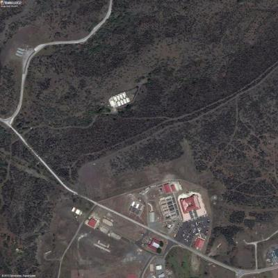 Satellite Image of Guantanamo Bay and Penny Lane Credit: AP