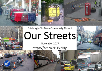 Our Streets : what we are having to put up with and what can be done about it