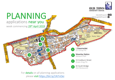 Planning list – week commencing 29th April 2019