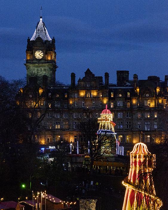 Edinburgh Christmas lights Princes Street Gardens & Edinburghu0027s Christmas Lights - Edinburgh Self-Catering Boutique ...