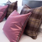 The McDonald Residence Double Bedroom Mauve Tartan