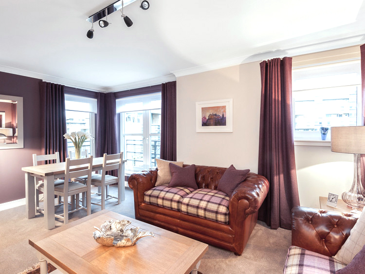 The Parkgate Residence - holiday apartment for short breaks in Edinburgh