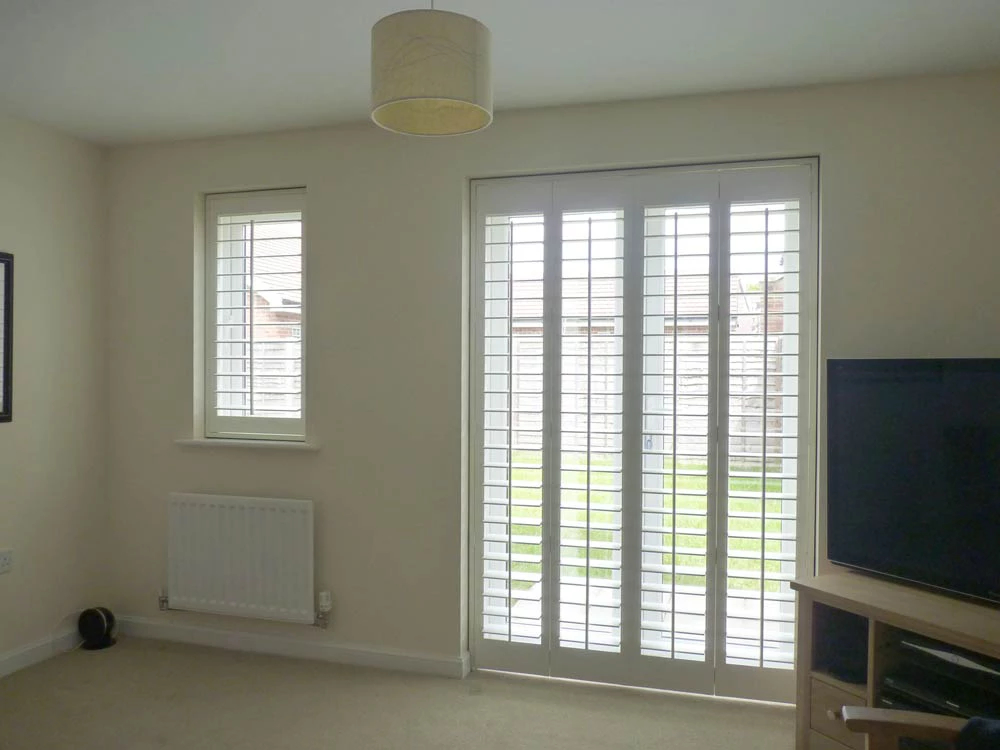 Custom fit door shutters Edinburgh Shutters