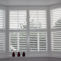 Bay Window Edinburgh Shutters