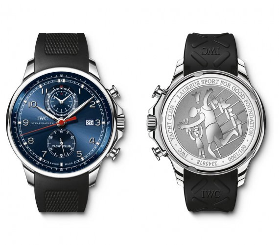 iwc yacht club laureus