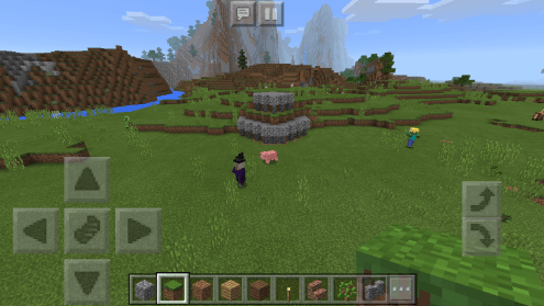 YAC Member Mairi's Minecraft build of Hound Point Battery