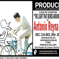 South Texan Antonio Reyna, III, artist extraordinaire, launches major exhibition Dec. 11 - 20 in Corpus Christi