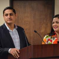 """Blessed beyond measure"" – Jesús ""Jesse"" M. Ozuna of Edinburg advancing his career upstate in legislative leadership, while following his heart for Rep. Ana Hernández, D-Houston"