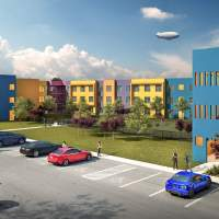 $29.1 million Legends Edinburg off-campus student luxury apartments complex, designed for UTRGV community, has begun construction for Fall 2017 opening, announces Edinburg EDC