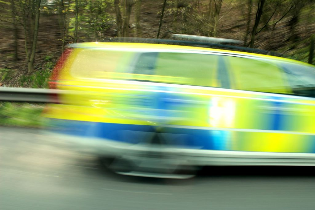 U.K Police Car Blur 2mp