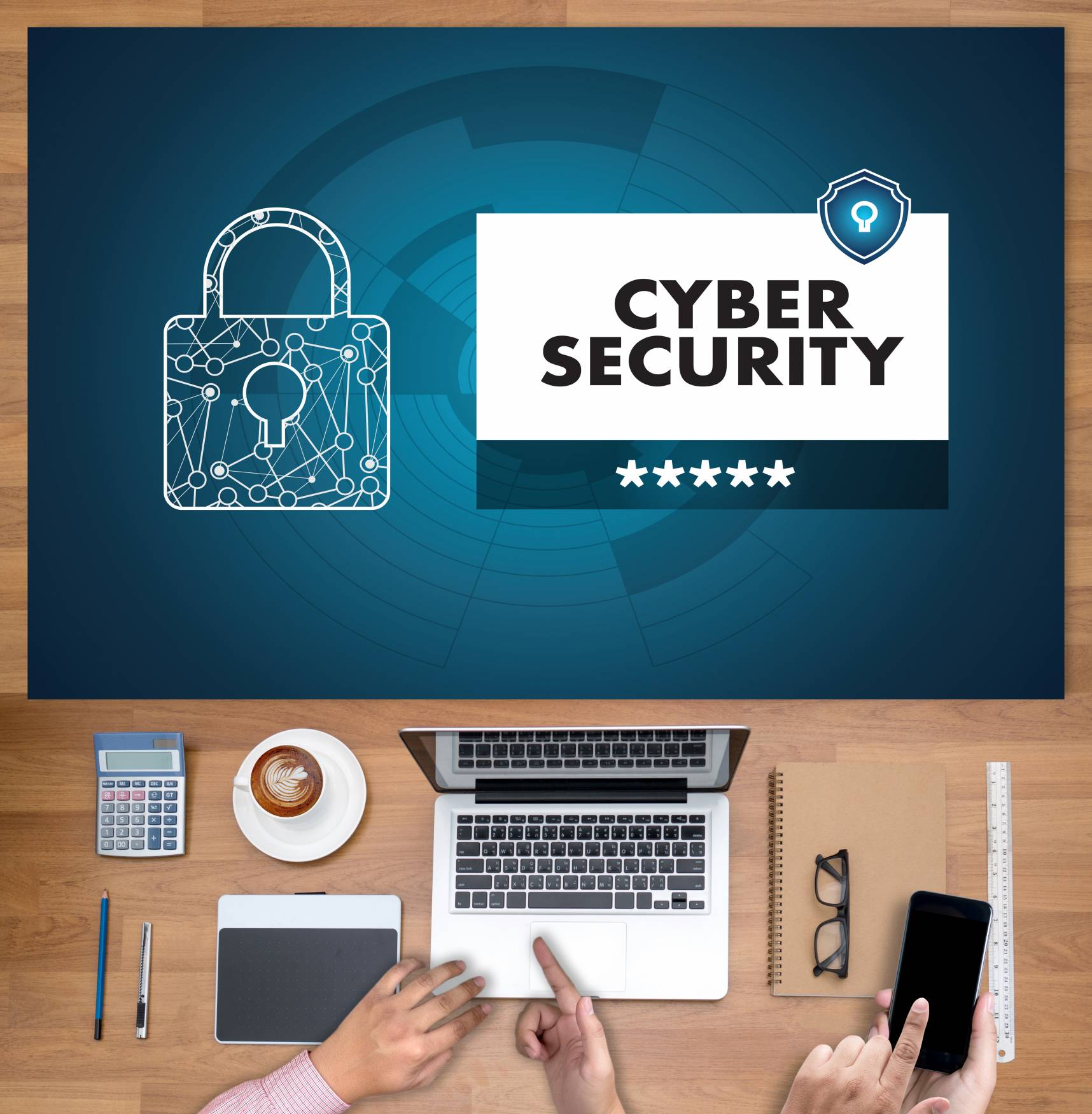 Canva CYBER SECURITY Business TechnologyFirewallAntivirus Alert Protection Security And Cyber Security Firewall Scaled
