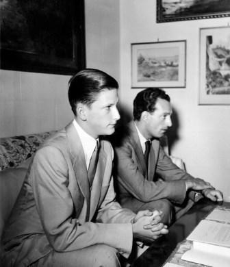 king_simeon_and_stephane_groueff_in_madrid_06-06-1955