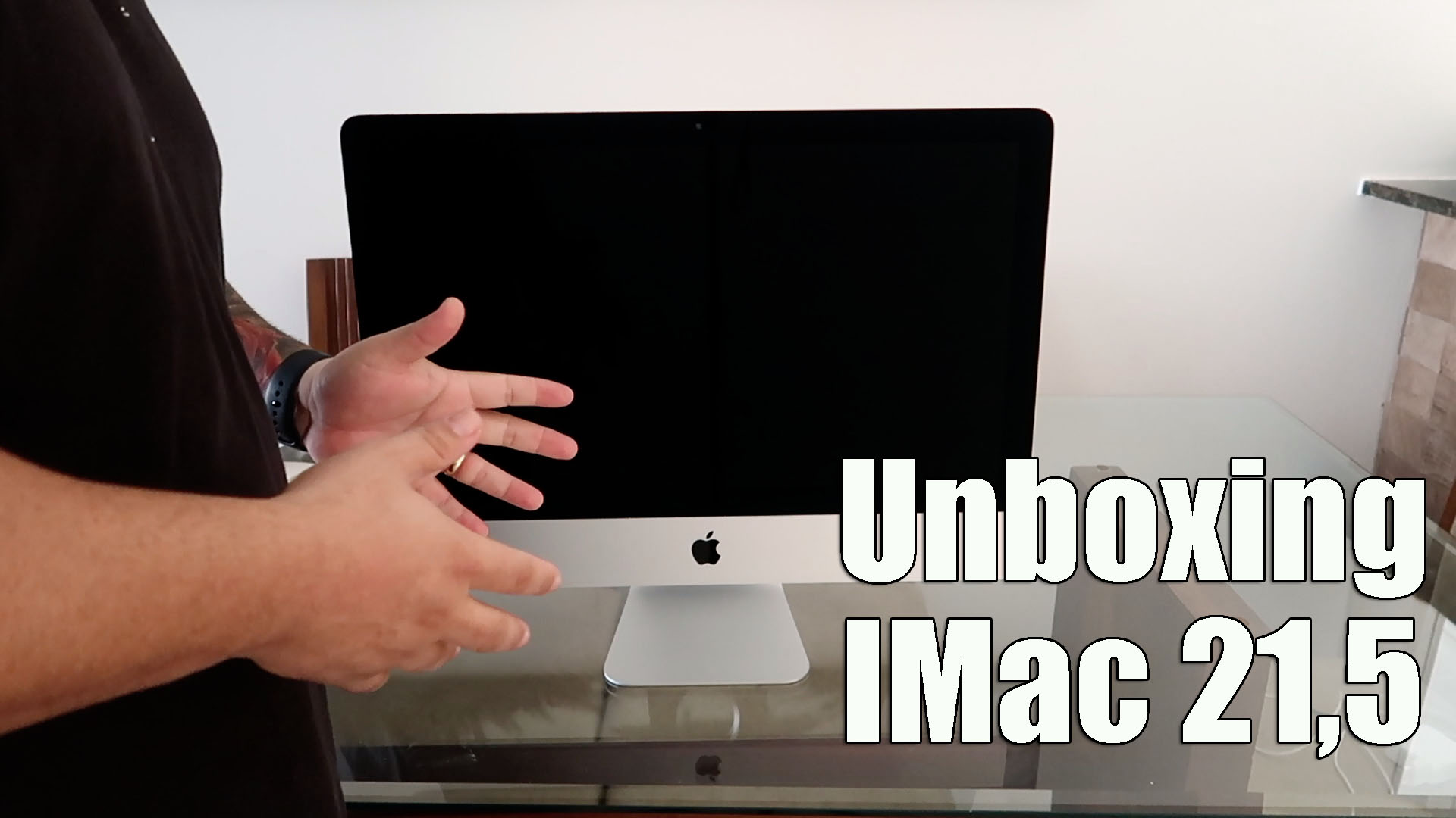 Unboxing IMac 21,5 Portugues 2020 – Vídeo