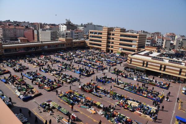 Artan vakalar sebebiyle Keşan halk pazarı bir hafta süreyle kapatıldı