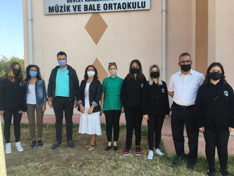 Edirne'de toplanan atıklar üretim sahalarında değerlendiriliyor