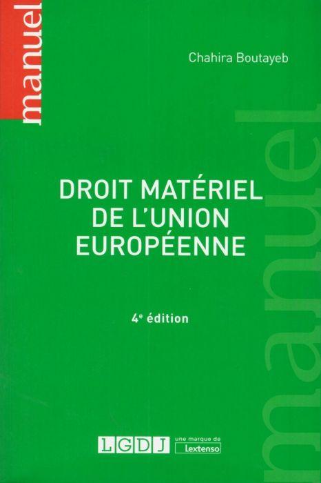 Droit Matériel De L'union Européenne : droit, matériel, l'union, européenne, Droit, Matériel, L'Union, Européenne