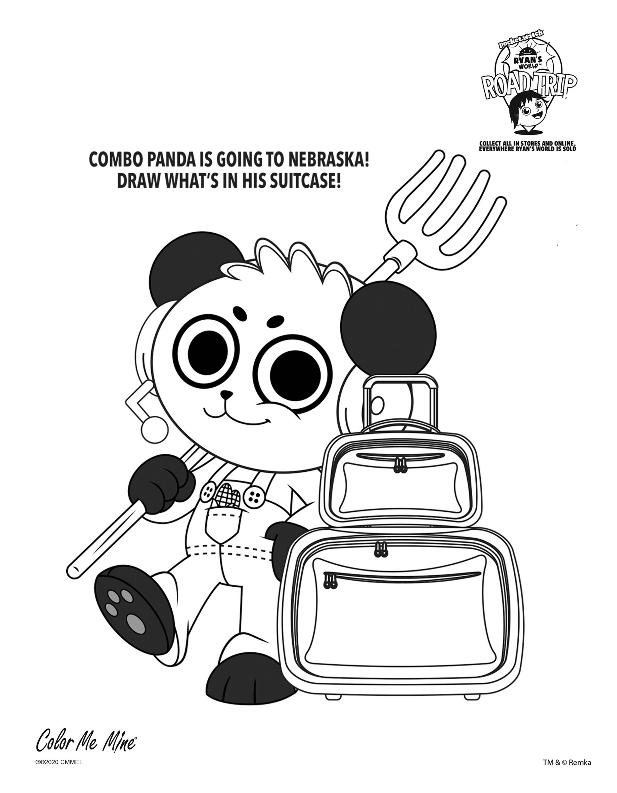 Ryan Coloring Pages : coloring, pages, Ryan's, World, Coloring, Pages, Moms.com