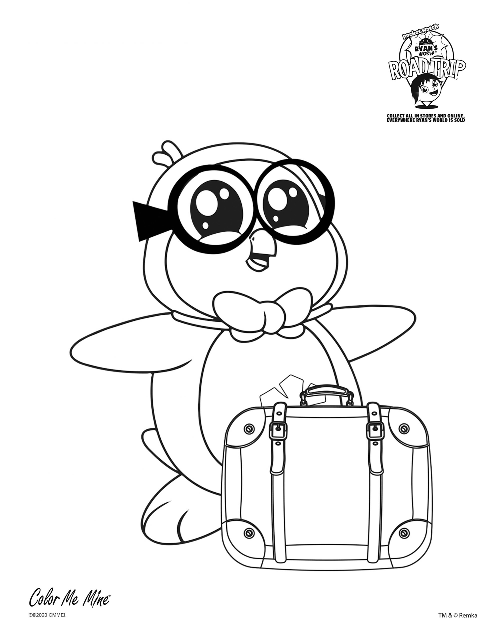 Ryan Coloring Pages Free - The Ryan Gosling Coloring Book