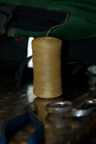Thread for hand stitching