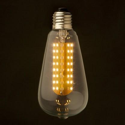 3 Watt Dimmable LED E26 Clear Edison bulb