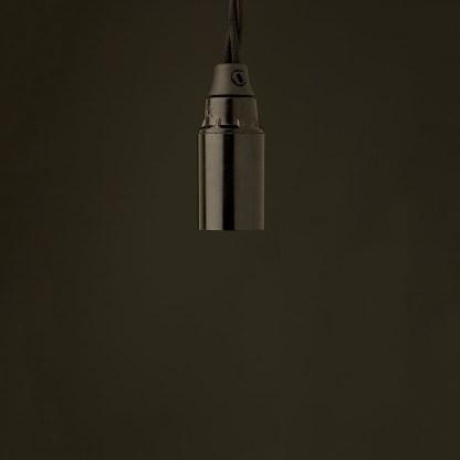 Edison Style Light Bulb And E12 Bakelite Pendant