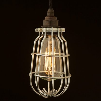 Enclosed Light Bulb Plated Cage Fitting