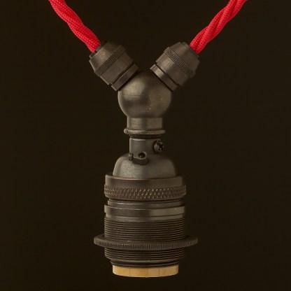 Bronze E26 Festoon Socket
