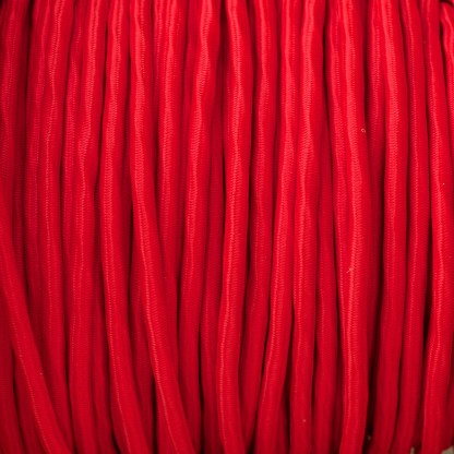 Poppy Red pulley cable