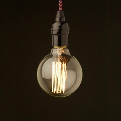 Edison style light bulb Vintage Bakelite fitting G95