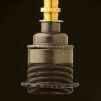 Bronze Threaded Lampholder Edison E27 fitting