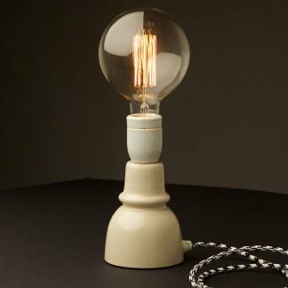 Vintage Ceramic Insulator table lamp