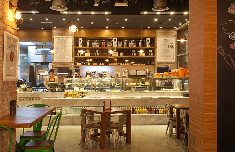 Pantry Cafe Wasl Square Dubai go industrial