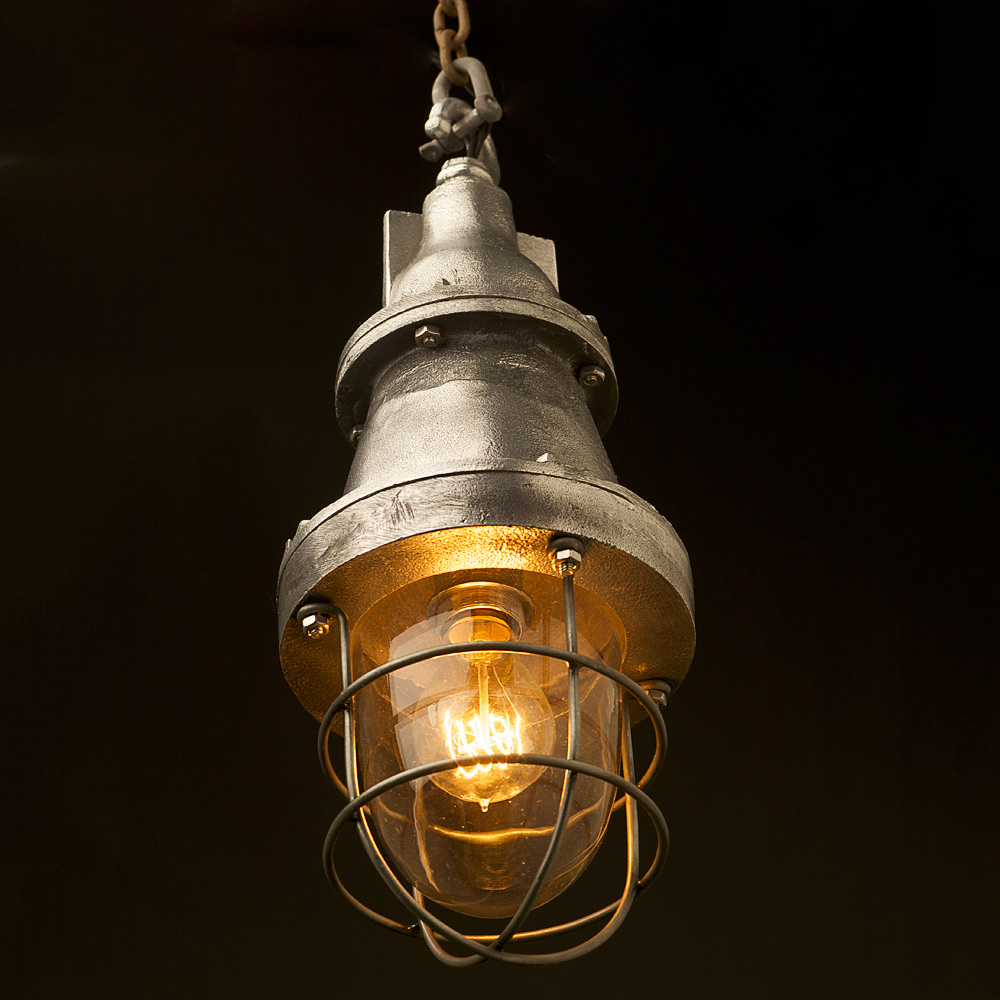 Fabric Cable Pendant Light
