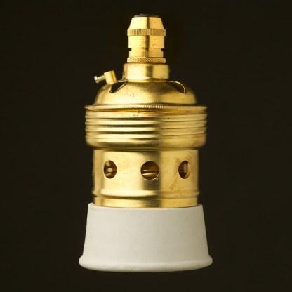 New Brass Lampholder Edison E40 fitting