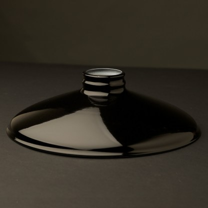 Black 10 inch Coolie Light Shade