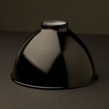 Black 7 inch Dome Light Shade