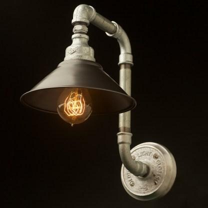 Plumbing Pipe Wall Shade Lamp