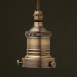 Antiqued Bronze 2.25 inch Cast Gallery Lampholder