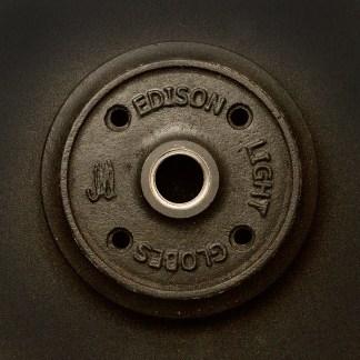 Black Cast iron flange plate