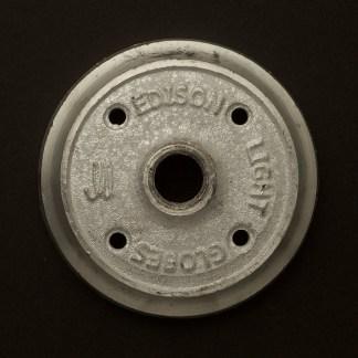 Cast aluminum flange plate