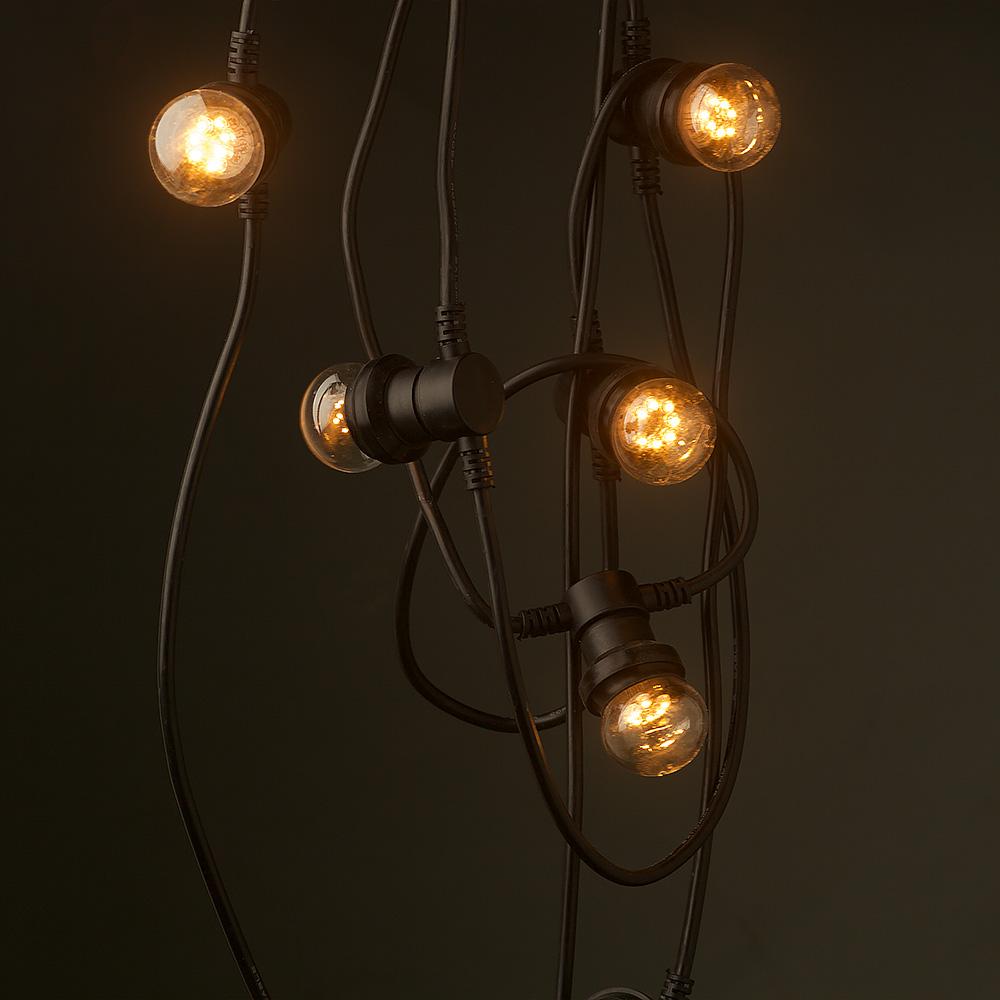 Vintage Edison 20 Bulb Party Lighting 240v