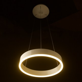400mm LED circle pendant
