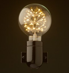 black porcelain wall light front g95 straw hat [ 1000 x 1000 Pixel ]