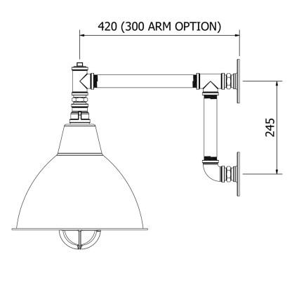 Pulmbing-Pipe-Outdoor-WaPulmbing Pipe Outdoor Wall Light & Shadell-Light-&-Shade
